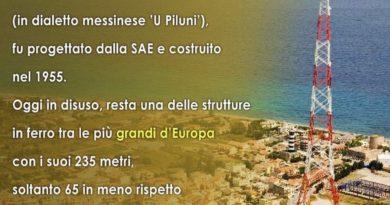 Lo sapevi che… | Il Pilone di Messina, tra le strutture in ferro più alte d'Europa