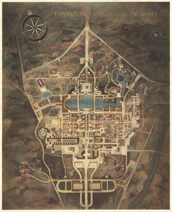 progetto urbanistico E42