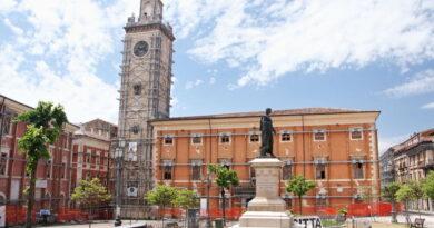 Palazzo Margherita (L'Aquila) dopo il sisma del 2009