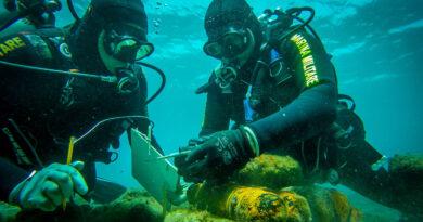 itinerari archeologici subacquei