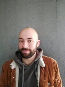 Andrea Brunelli, ricercatore Unife sulle orme del batterio