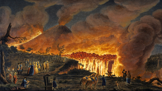 incendio anfiteatro flavio Pozzuoli